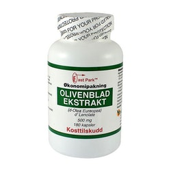 Olivenblad-ekstrakt 500 mg. - East Park