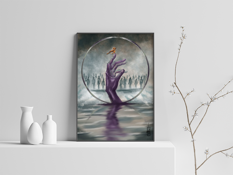 The Sound of Silence Print