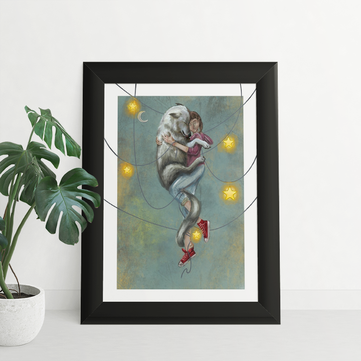 Throw Me to The Wolves Print
