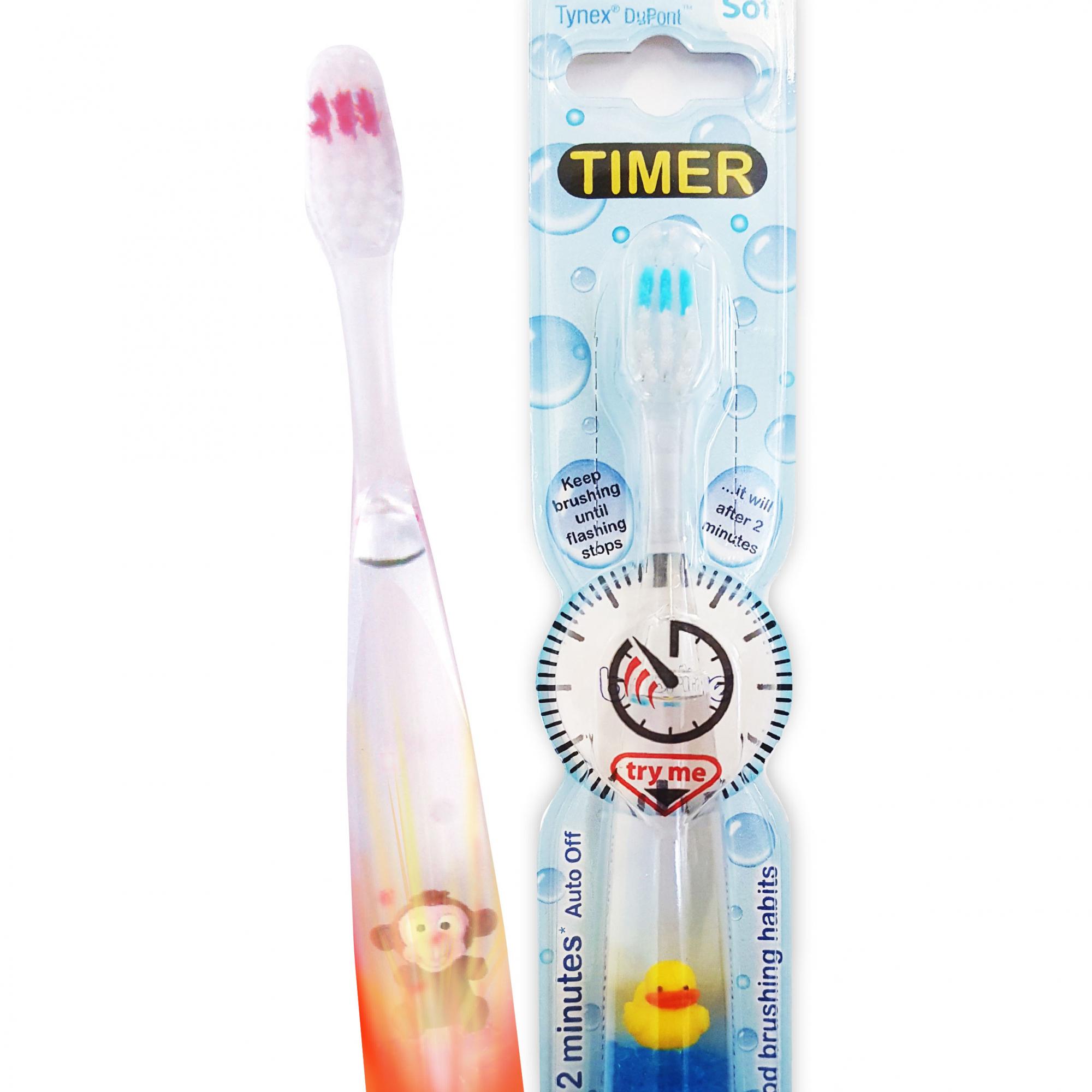 Blinkande tandborstar - Leklyckan