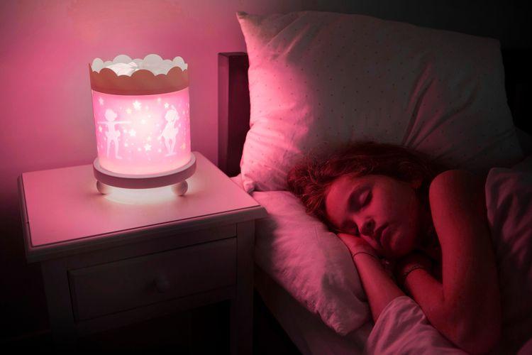Projekt nattlampa miljöbild