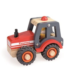 Traktor i trä