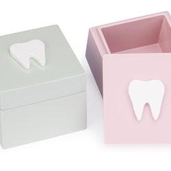 Tandask display mint och rosa skogsvänner