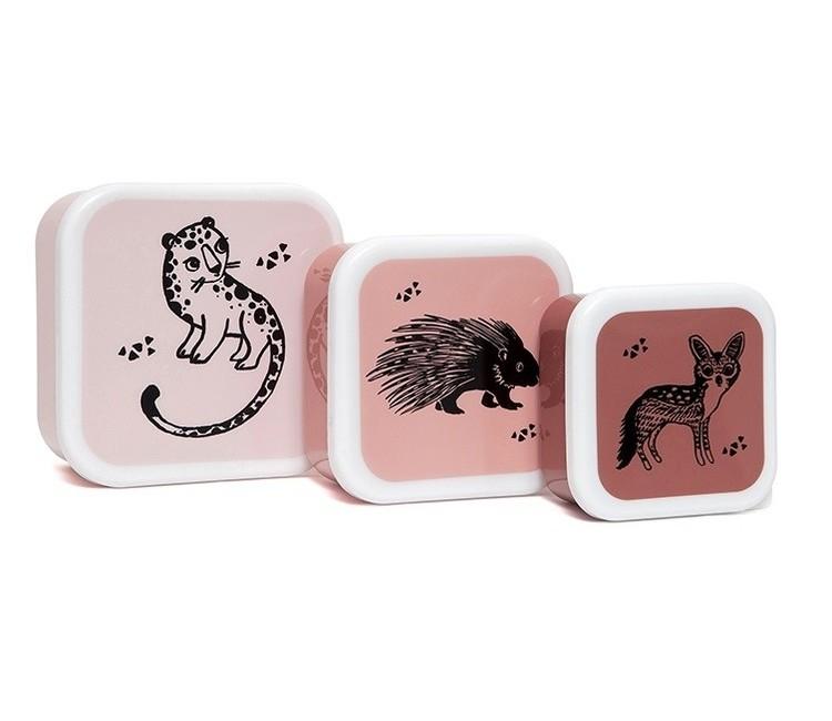 Snaxboxar x3 djur