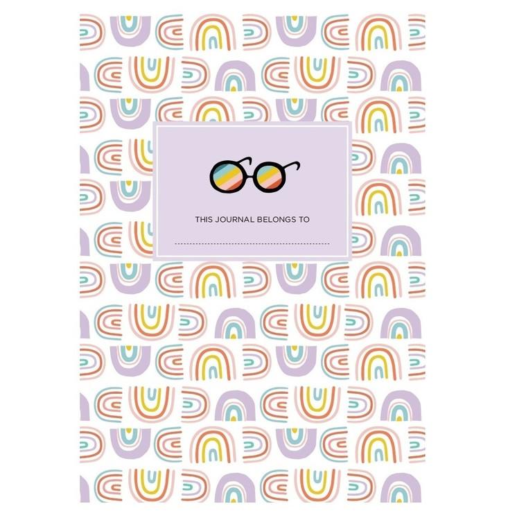 Anteckningsbok Rainbow Girl