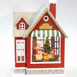 Julehus glitter
