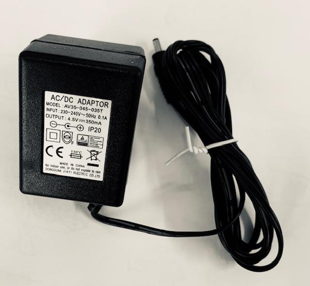 Adapter speldosor 4,5V 350MA