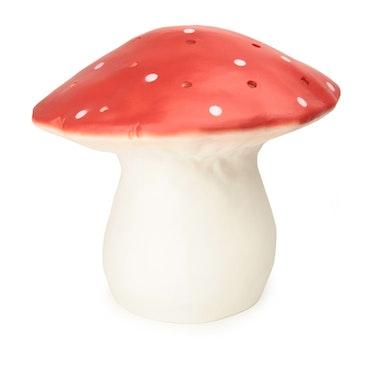 Svamplampa XL röd