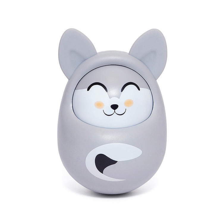 Roly poly fox cool grey