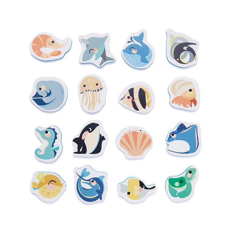 Badpussel havsdjur