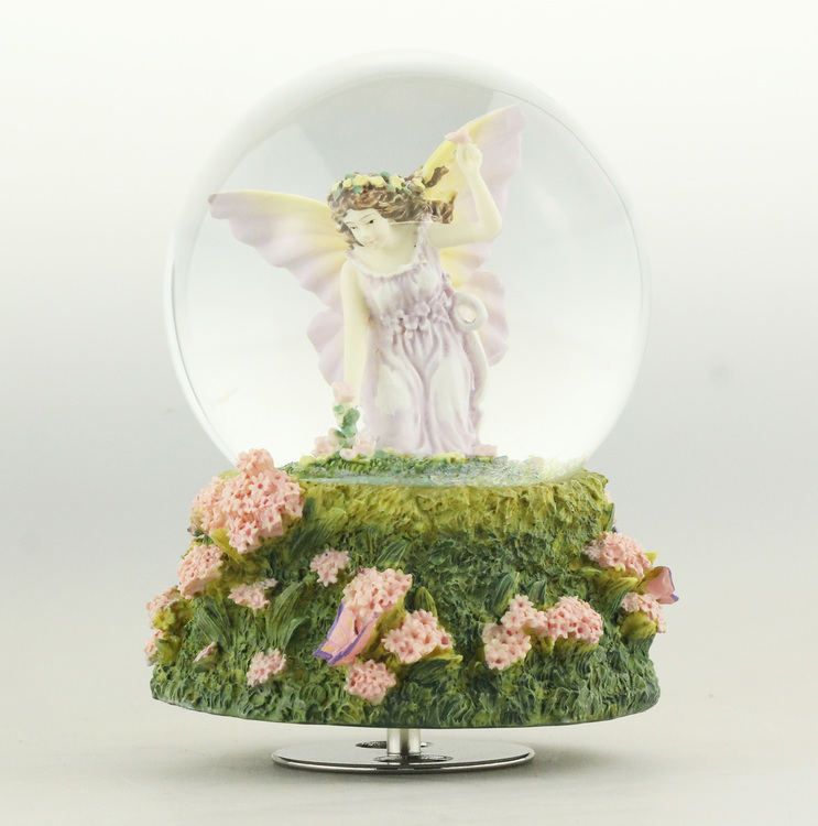 Glob blommor & ängel