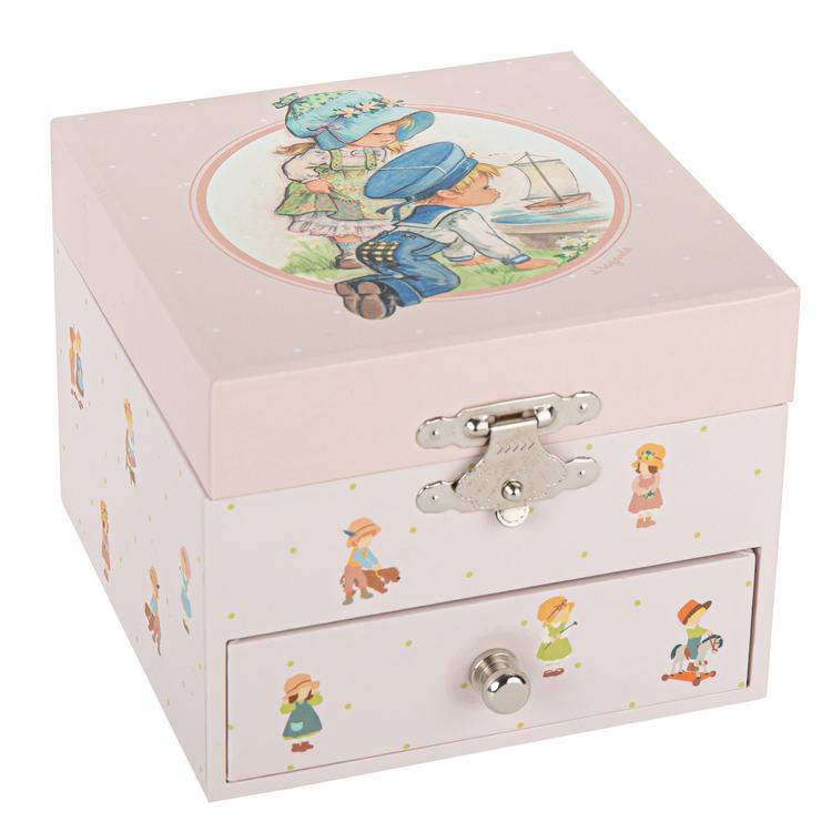 Smyckeskrin barndomsminne rosa - Jeanne Lagarde©