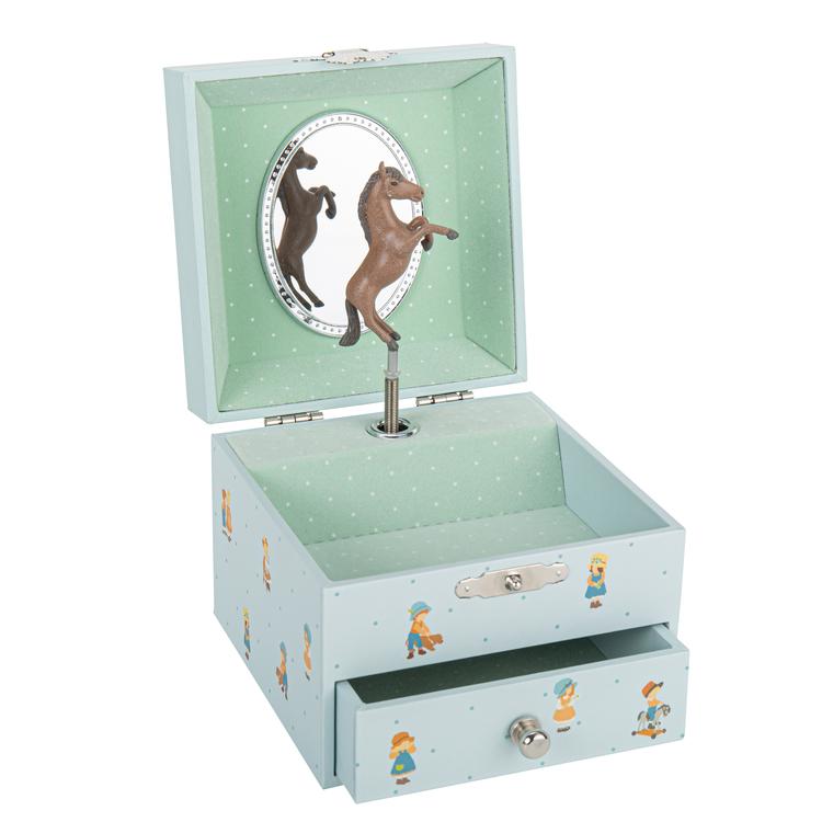 Smyckeskrin barndomsminne blå - Jeanne Lagarde©