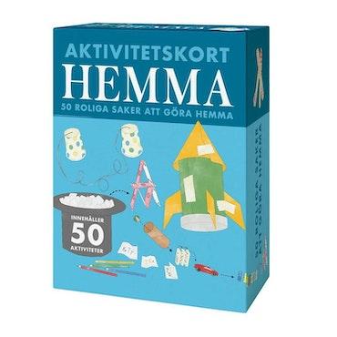 Aktivitetskort Hemma - 50 roliga saker inomhus