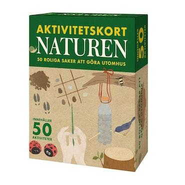 Aktivitetskort Naturen - 50 roliga saker utomhus