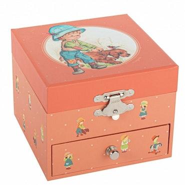 Smyckeskrin barndomsminne aprikos - Jeanne Lagarde©