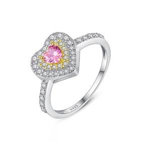 Ring i äkta sterling silver 925s Cubic zirconia R1008008