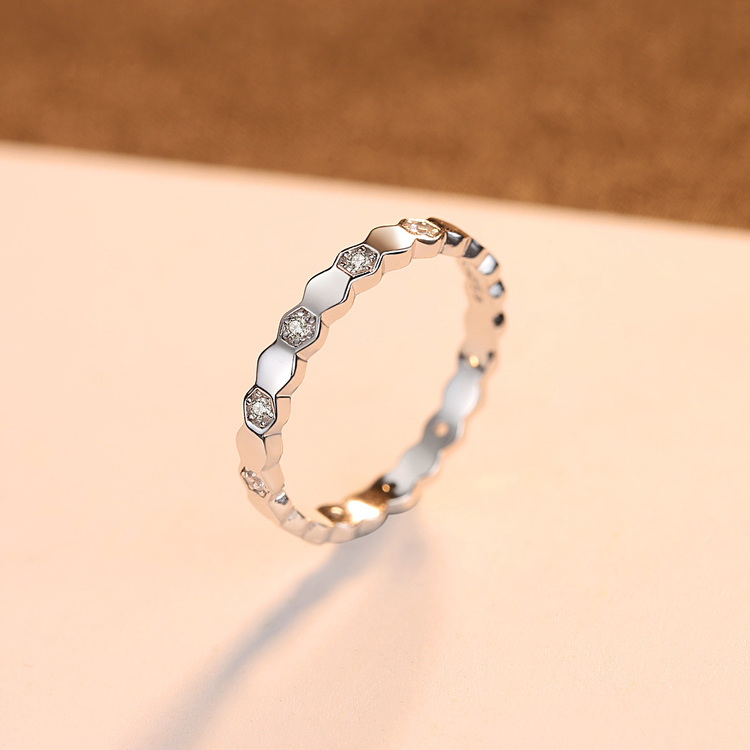 SILVER RING - Mellie R1008013