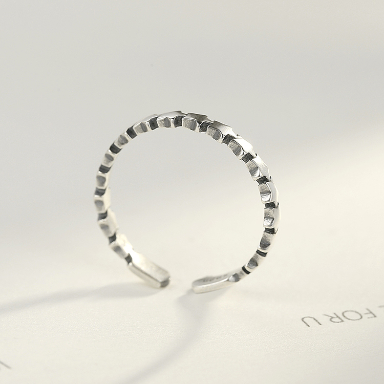 SILVER RING - Ondine JR1008006
