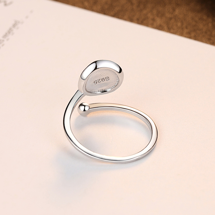 SILVER RING - Oceane JR1008007