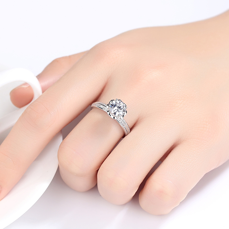 SILVER RING - Lyrical R1008006