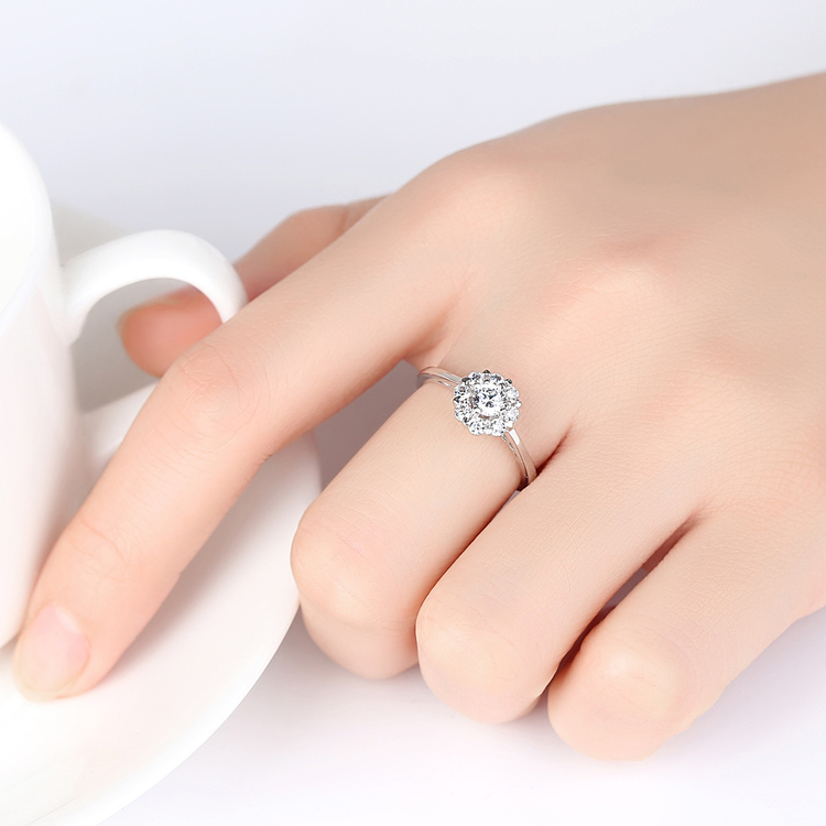 SILVER RING - Isabea R1008035