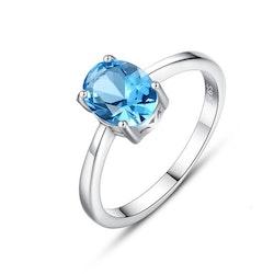 SILVER RING - Blue R1008005