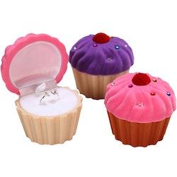 PRESENTASK FÖR SMYCKE - Cupcake