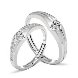 SILVER RING - Elke JR1008013
