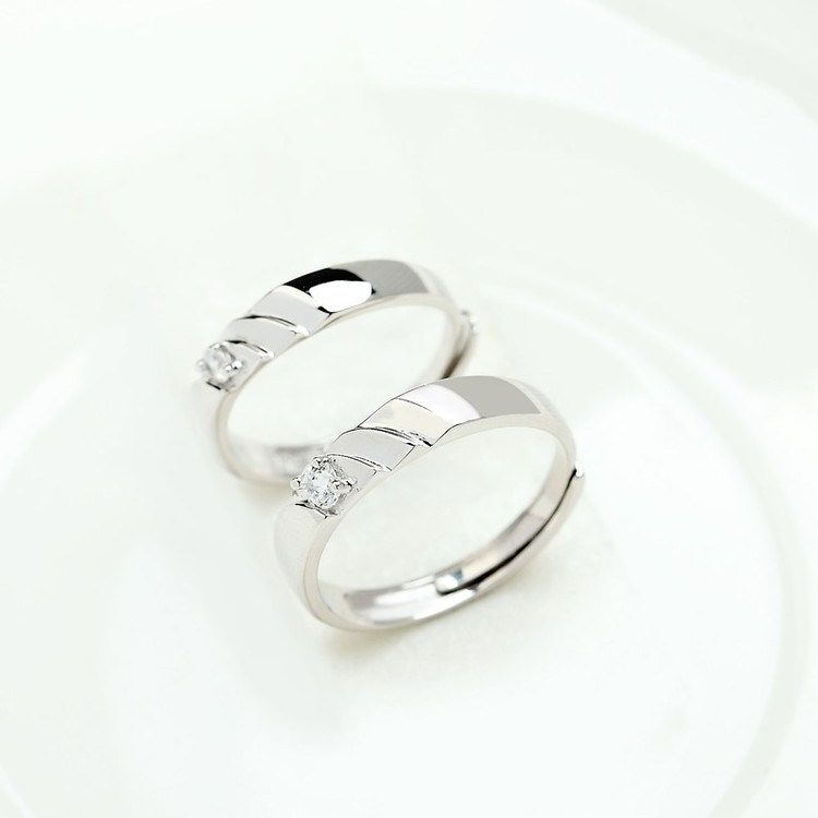 SILVER RING - Bess JR1008011