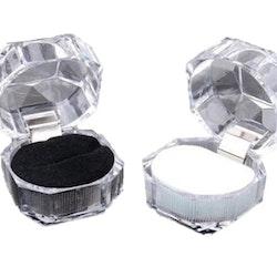 PRESENTASK FÖR SMYCKE - Kristall