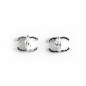 Örhängen i äkta sterling silver 925s Crystal E1008060
