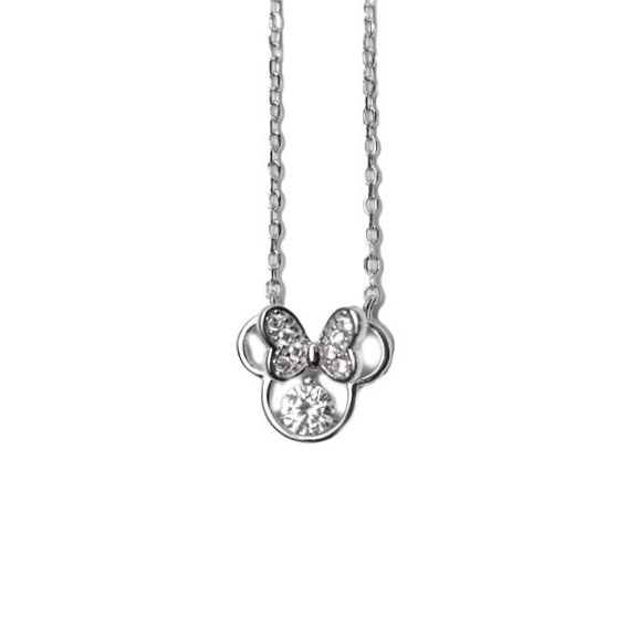SILVER HALSBAND - Mimmi mouse N1008003