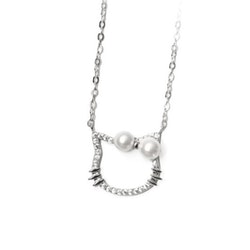 SILVER HALSBAND - Hello Kitty N1008005