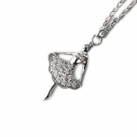 Halsband i äkta sterling silver 925s Ballerina N1008008