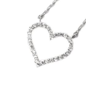 Halsband i äkta sterling silver 925s Hjärta N1008021