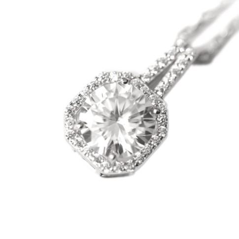 SILVER HALSBAND - Crystal N1008023