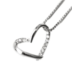 SILVER HALSBAND - Heart N1008029