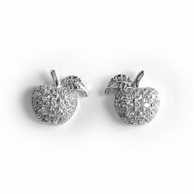 Örhängen i äkta sterling silver 925s Äpple E1008046