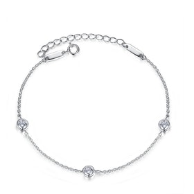 Armband i äkta sterling silver 925s A1008001