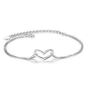 Armband i äkta sterling silver 925s A1008003