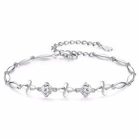 Armband i äkta sterling silver 925s A1008004