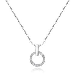 Halsband i äkta sterling silver 925s N1008034