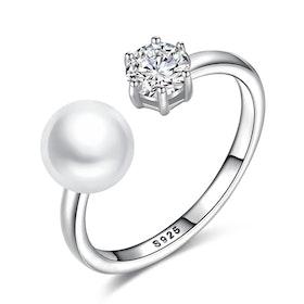 Ring i äkta sterling silver 925s JR1008016