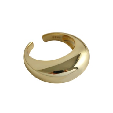 SILVER RING - Dome JR1008019