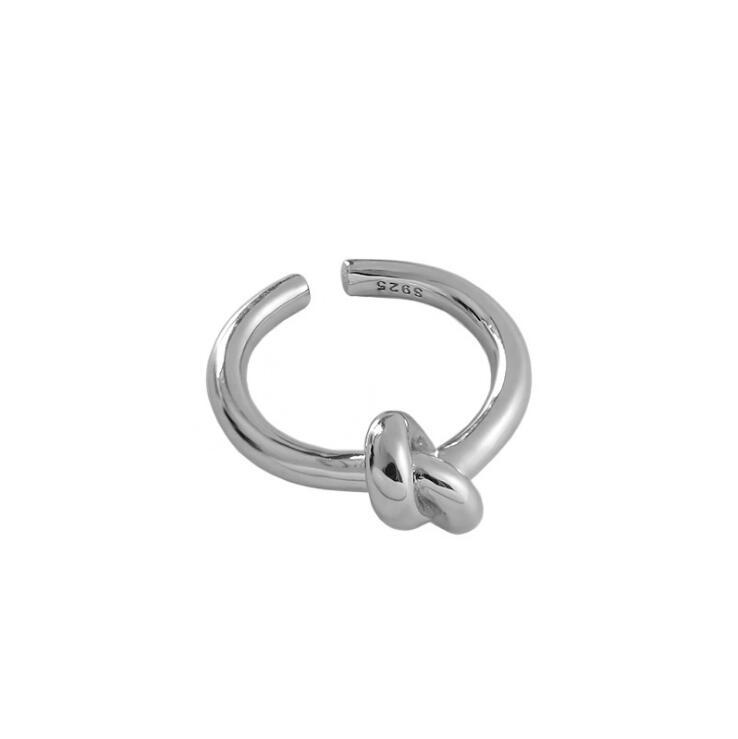 SILVER RING - Knot JR1008028