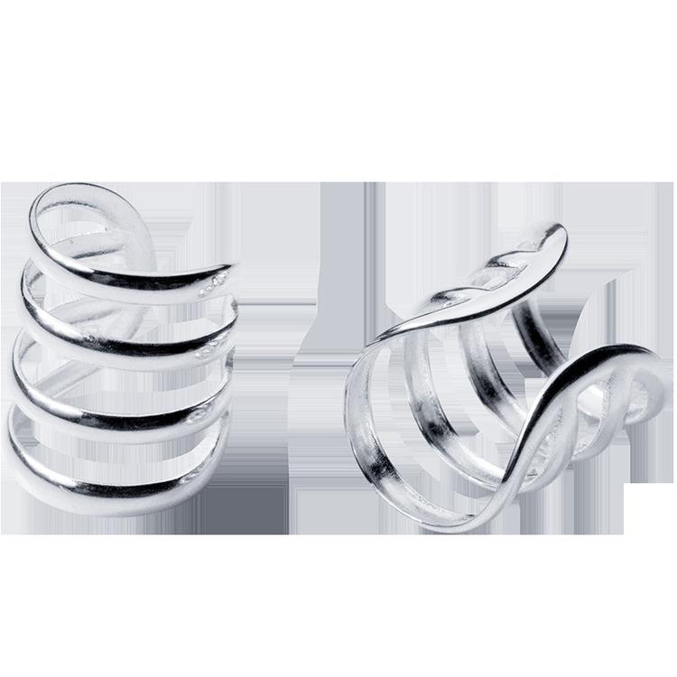 SILVER ÖRHÄNGEN - Naya cuff E1008096