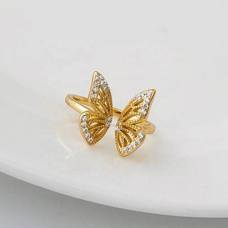 SILVER RING - Butterfly JR1008047