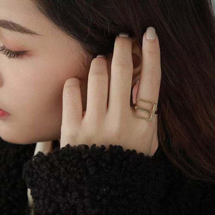 SILVER RING - Quno JR1008044