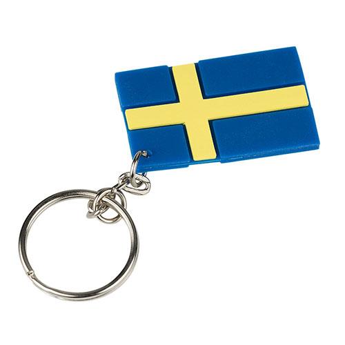 Nyckelring med en svensk flagga på. Inga konstigheter.